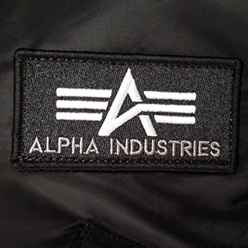 Industries Uomo Giacca Camicia Alpha Nero wSYqwd