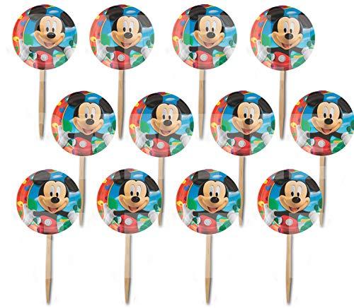 Mickey Mouse Picks Cupcake Picks Cake Toppers -12