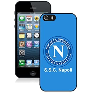 Unique DIY Designed Case For iPhone 5S With Soccer Club Napoli 11 Football Logo Cell Phone Case