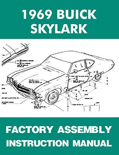 Buick Gran Sport - 1969 BUICK SKYLARK FACTORY ASSEMBLY INSTRUCTION MANUAL Sportwagon Gran Sport, GS, Custom, Special & Special Deluxe