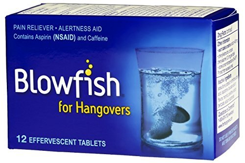Blowfish for Hangovers (12 Tablets), 12 Count by Blowfish
