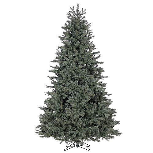 Ship My Plants Pre-Lit Colorado Blue Spruce Lifelike Christmas Tree, 7.5-Feet Tall, Unlit (Colorado Blue Spruce Pre Lit Christmas Tree)