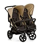 Hauck Roadster Duo SLX Side by Side Double Pushchair up to 36 kg with Lying Position from Birth, Easy Folding, Large…