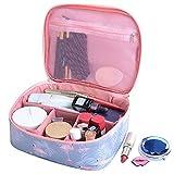 SAIBANG Hanging Toiletry Bag-Portable Travel Bag for Women Cosmetic Organizer Travel Makeup Bag
