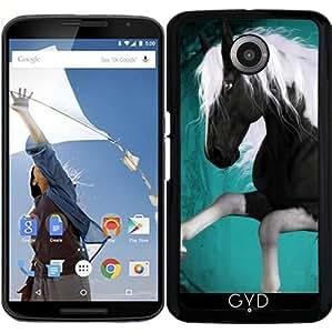Funda para Motorola Nexus 6 - Impresionante Caballo by nicky2342