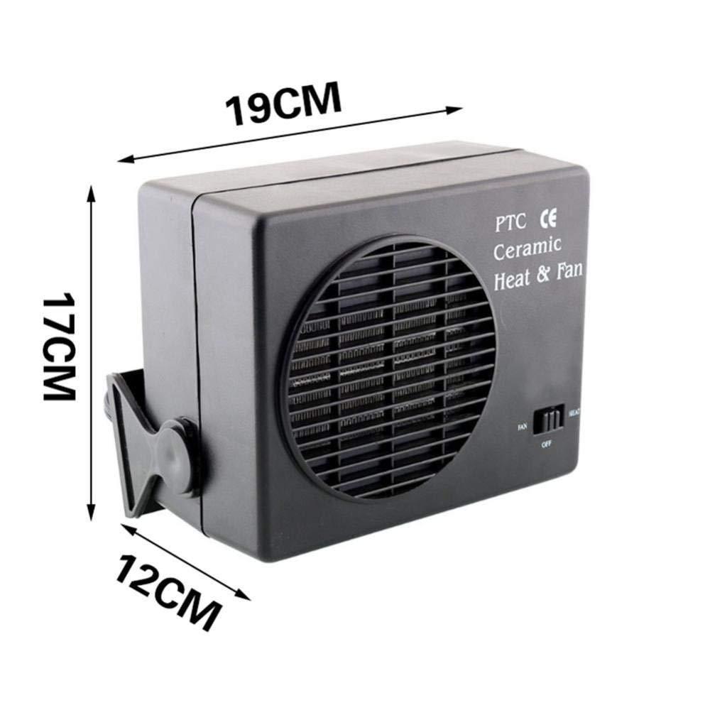 12V 150W Car Heater Parking Heater Ceramic Auto Truck Fan Heater Portable Window Defroster Vehicle Heater Warmer Fan