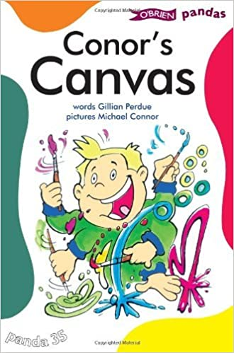 Book Conor's Canvas (Pandas) by Gillian Perdue (2007-09-21)