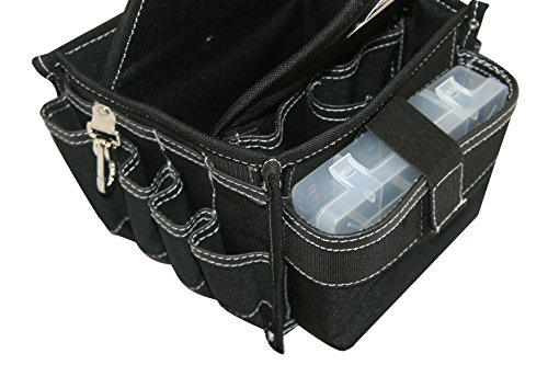 Gatorback B707 Super Tray Tool Carrier w/25 pockets. (NO LOGO CLEARANCE MODEL) Tool Carrier For Electricians, Carpenters, HVAC, Etc. By Contractor Pro by Gatorback (Image #1)