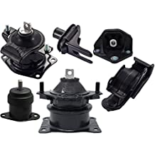 Engine Motor and Trans Mount Kit 6pcs for 2004 2005 2006 Acura TL 3.2L Auto