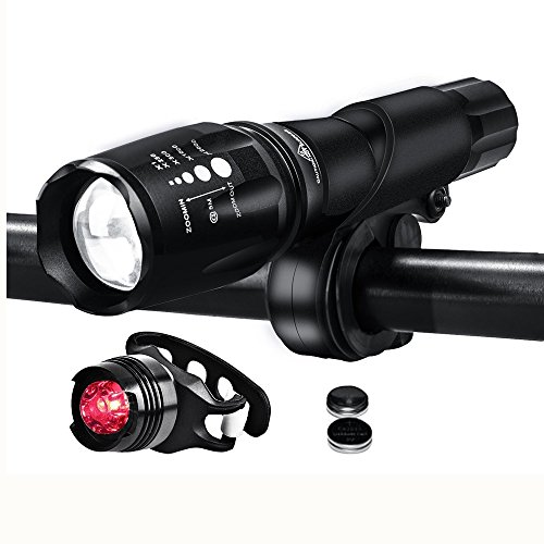 Topoint Waterproof Flashlight Headlight Taillight