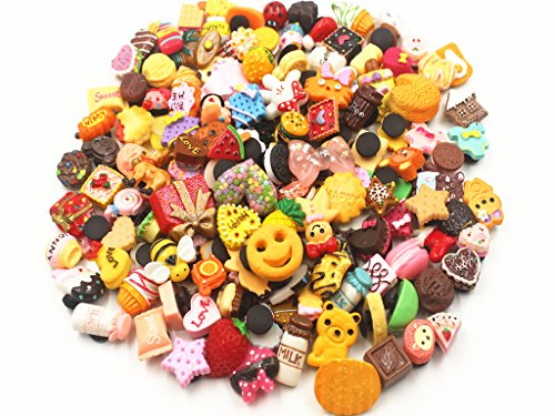(50 Pcs 3D Random Resin Cute Shoe Charms For Jibbitz Croc Shoes & Bracelet Wristband Kids Gifts Party)
