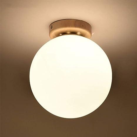 ZYCkeji Distintivo Lámparas, Pasillo nórdico Redondo LED luz ...