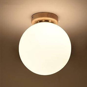 AEXU Exquisito Lámparas, Pasillo nórdico Redondo LED luz de ...