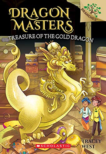 Treasure of the Gold Dragon: A Branches Book (Dragon Masters #12) ()