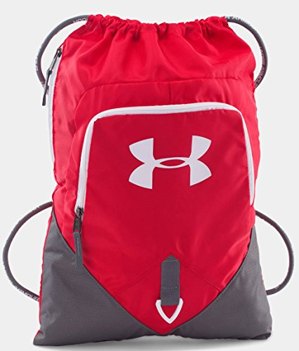 Under Armour UA Team Undeniable Sackpack, Red/Graphite/White
