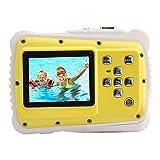 Longshow Digital Waterproof Camera, Kids Underwater Action Camera Water Dust Resistant Camera