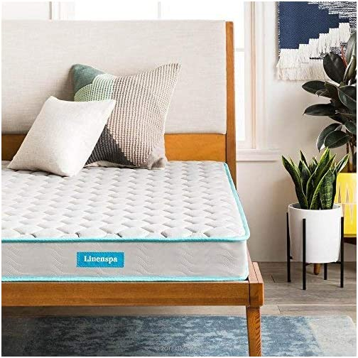 Linenspa 6-Inch Spring Mattress – Twin