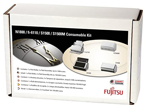 Fujitsu CON 3586 013A ScanSnap Consumable Kit product image