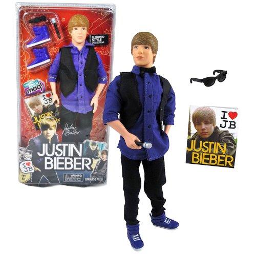 Bravado Year 2010 Justin Bieber Series 11-1/2 Inch Basic Doll Set - JUSTIN BIEBER