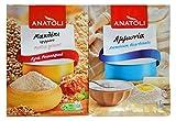 Anatoli Ground Mahlep and Ammonia (Ammonium Bicarbonate) for Cooking, Baking, Bundle
