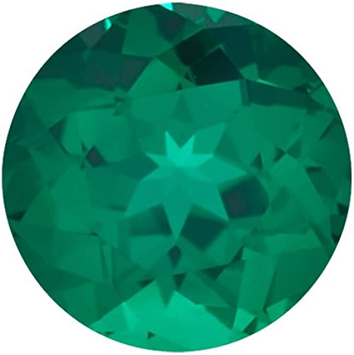 Lab Grown Emerald Round 4mm Lot of 5 Stones s Best Deal