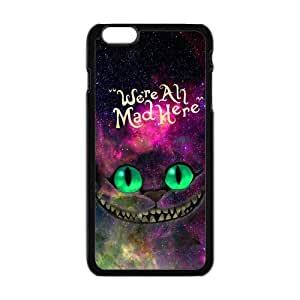 """Danny Store Hardshell Cell Phone Cover Case for New iPhone 6 Plus (5.5""""), Nebula Galaxy Space Cheshire Cat"""