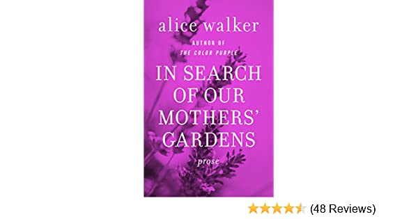 in search of our mothers gardens analysis