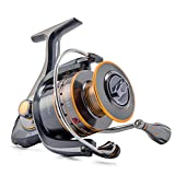 Supertrip Sea Salt Water Metal Strong Corrosion Resistance Stainless Steel Fishing Reels Spinning Reel Size SW4000
