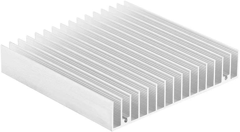 Computer Electrical Facilities Aluminum Heat Sink Heatsink Module 4.73 x 3.95 x 0.69inch Perforated Heat Sink Cooler Fit for Electronic