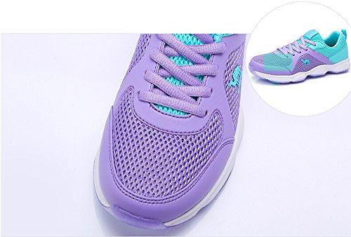 Camel Womens Lace-up Fashion Sneaker Colore Viola Taglia 37 M Ue