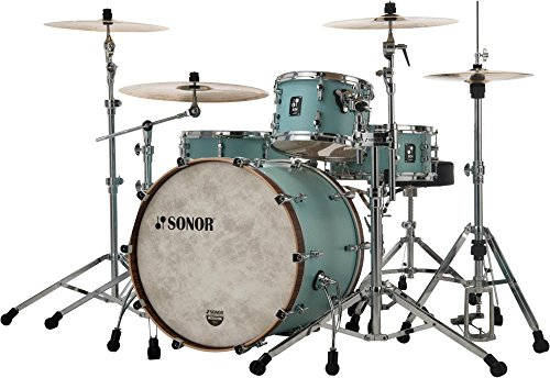 Sonor sQ1 3-Piece Shell Pack with 22 in. Bass Drum Cruiser Blue