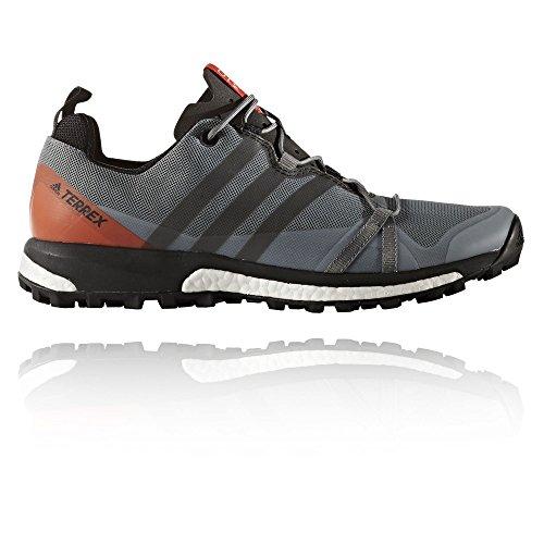 adidas Terrex Agravic, Chaussures de Randonnée Homme, Gris (Grigio Grivis/Negbas/Energi), 44 EU