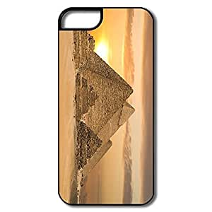 IPhone 5S Case, Egyptian Pyramids Cairo White/black Covers For IPhone 5S