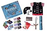 Funklu - Innovative Educational Treasure Hunt Game For Kids With Pirate Costume Role-Play Set (Age: 3 to 8 years)