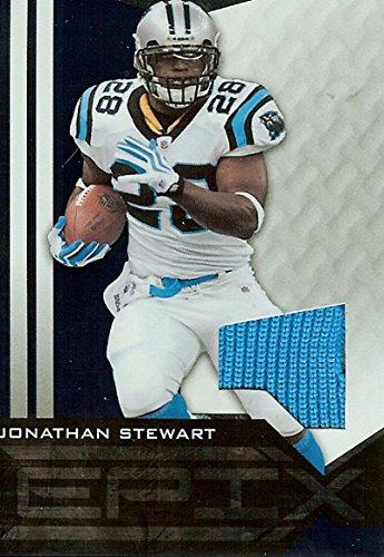 Football NFL 2010 Epix Epix Threads Jerseys Blue #93 Jonathan Stewart MEM Panthers from EPIX