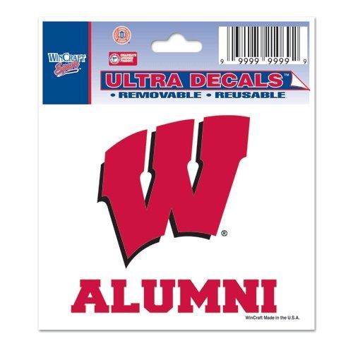 3 x 4 NCAA University of Wisconsin 71044091 Multi-Use Decal