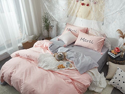 hotel bedding pink - 7