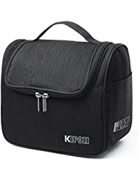 Hanging Toiletry Bag Travel Toiletry Kit for Men Women Toiletries Cosmetics and Travel Accessories ,Water Resistant with Mesh Pockets,Sturdy Hanging Hook Shower Bag