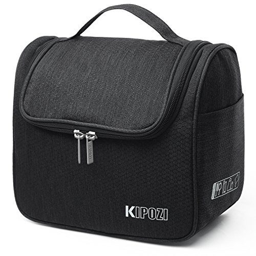 KIPOZI Travel Hanging Toiletry Bag Make up Wash Bags Toiletries Organiser...