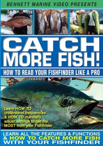 Catch More Fish - How To Read Your Fishfinder Like A (Frequency Sonar Fishfinder)