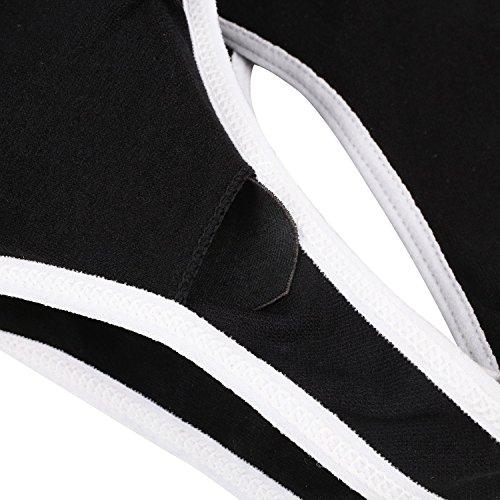 amp;l Black Donna Reggiseno White Gray S Sportivo 6wfRqpS