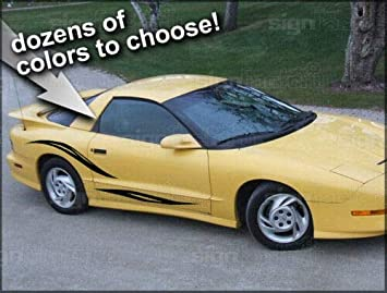 35th Anniversary Firebird Trans Am Decals ANY COLOR!