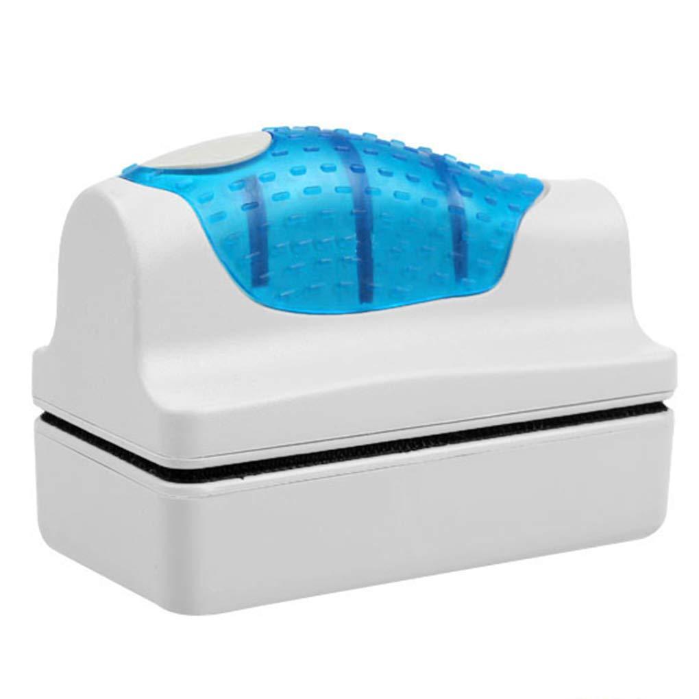 Magnetic Brush Aquarium Fish Tank Glass Algae Scraper Cleaner Curve Aquarium Window Cleaning Magnets Brush Cleaner Regard