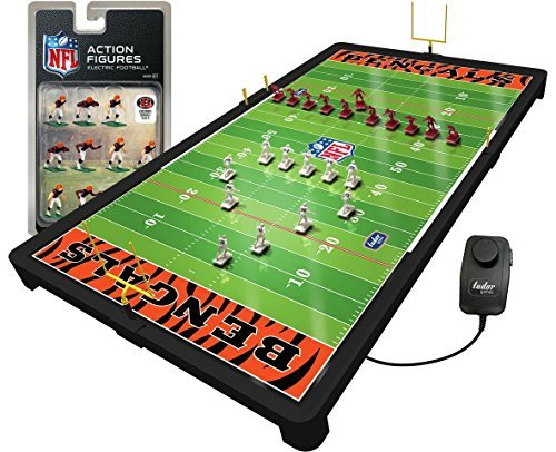 Cincinnati Cincinnati Bengals Game NFL Football Deluxe Electric Football Game [並行輸入品] B07F8FY3QL, ノナカ金物店:99e27830 --- imagenesgraciosas.xyz