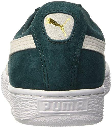 Bianco Ponderosa Verde Pine Suede Puma EU 41 Classic Uomo Sneaker 1BfZp10qX