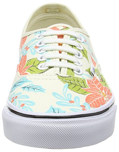 Vans Zapatillas Authentic Adulto Poinsettia Doren White Van Beige Classic Beige Unisex RpgwR