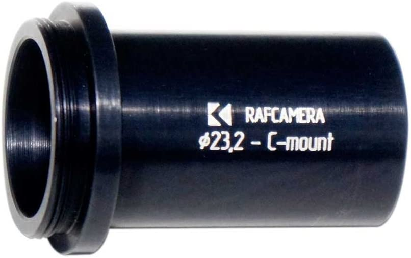 23mm Eyepiece Tube to C-Mount Adapter for Microscope