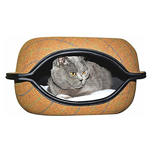 Cat Cave Bed with Cushion Cats Pod for Kittens by - Round Hut