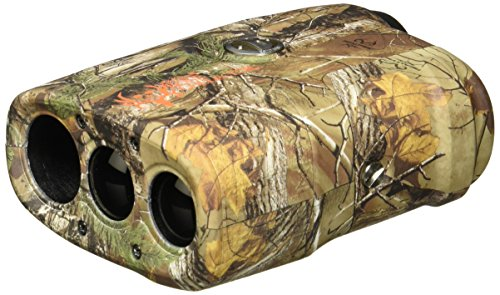 Bushnell 202208 Bone Collector Edition 4x Laser Rangefinder, Realtree Xtra Camo, 21mm