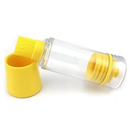 Dealglad® 3 en 1 alta temperatura resistente silicona Miel Dispensador de aceite de oliva botella